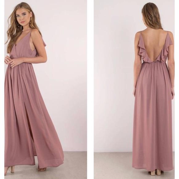 Mauve Bridesmaid Dresses